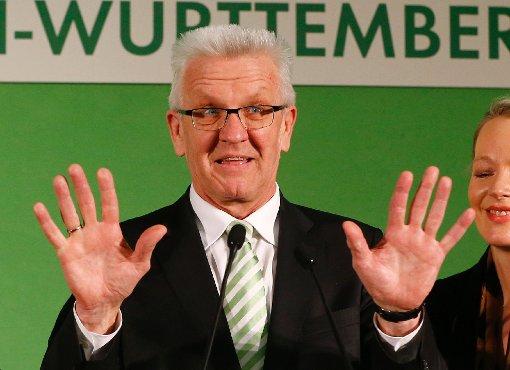 Kretschmann hebt Grüne in den Himmel