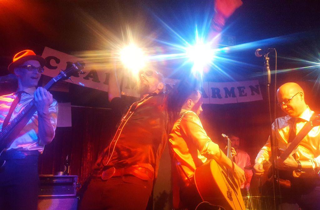 Die Band Charmin' Carmen feiert am Freitag ihr neues Album. Es ist stärker als der Tod des Schlagzeugers der Band. Foto: Veranstalter