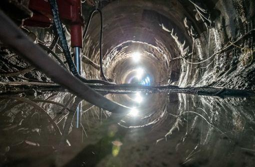 Bahn nimmt Wasserschlacht im Tunnel wieder auf