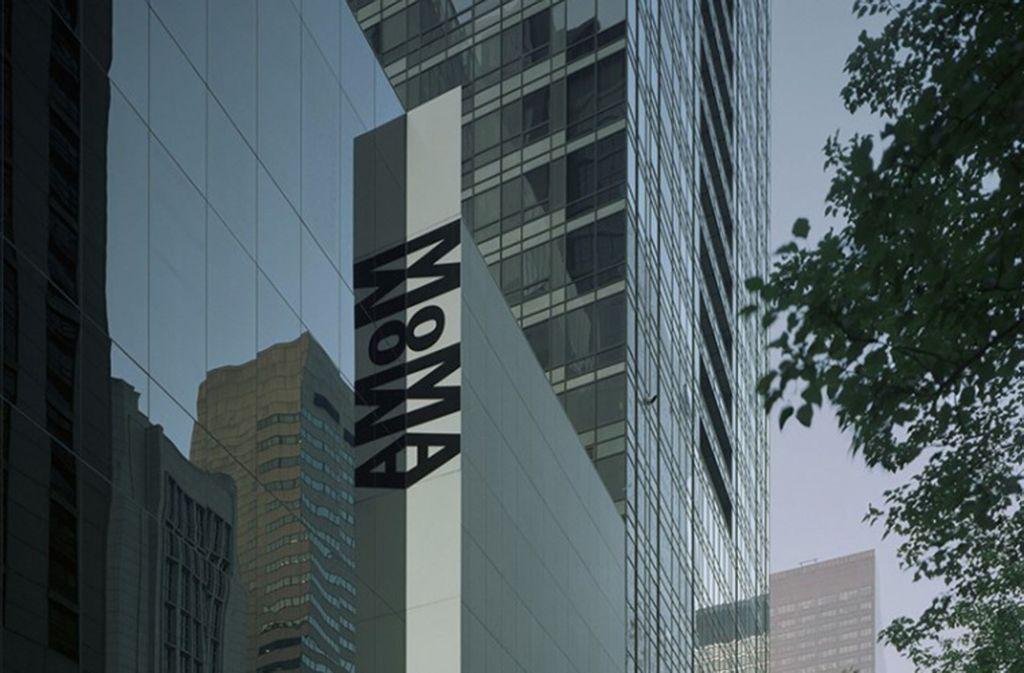 Die Fassade des Museum of Modern Art (MoMA) Foto: Museum