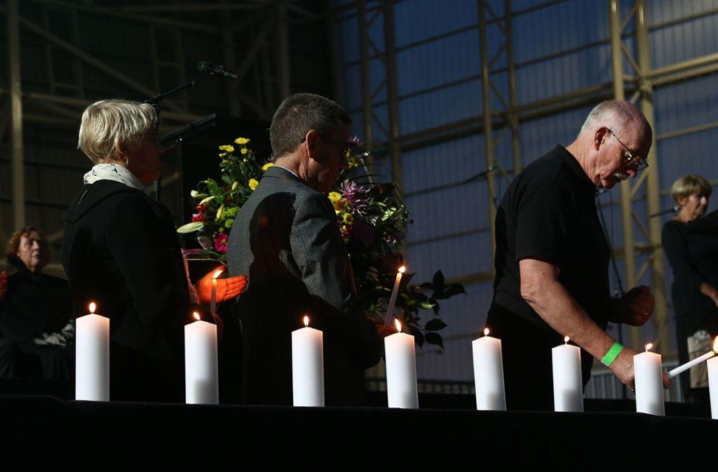 Bei dem Anschlag war ein mutmaßlich rechtsextremistischer Terrorist in zwei Moscheen in Christchurch gestürmt und tötete 50 Menschen. Foto: Getty Images AsiaPac