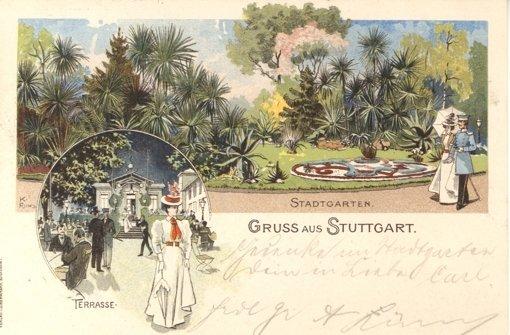 Stuttgart zur Jahrhundertwende