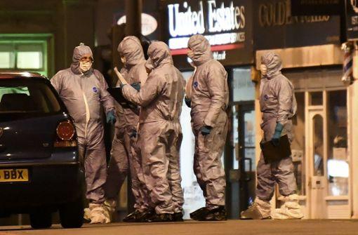 Polizei: Täter hat Sprengstoffgürtel getragen