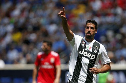 Sami Khedira verlängert Vertrag bei Juventus Turin