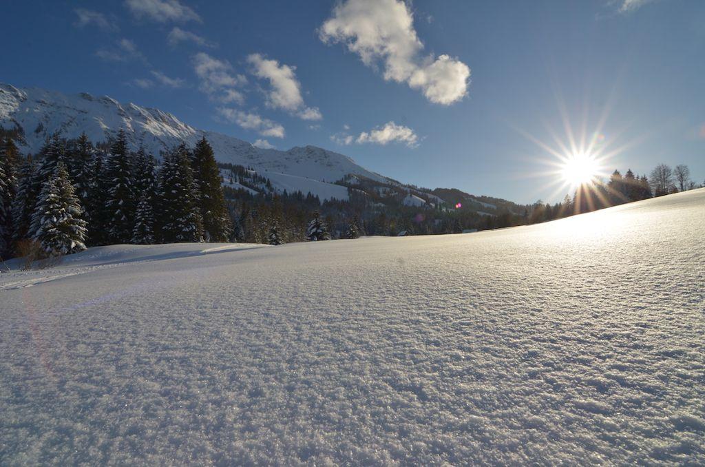 Traumhafte Winterlandschaft  Foto: Bad Hindelang Tourismus