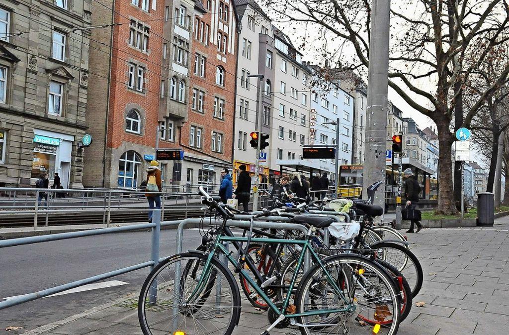Im Interesse der Fahrradmobilität müssen genügend Stellplätze vorhanden sein. Foto: Georg Linsenmann