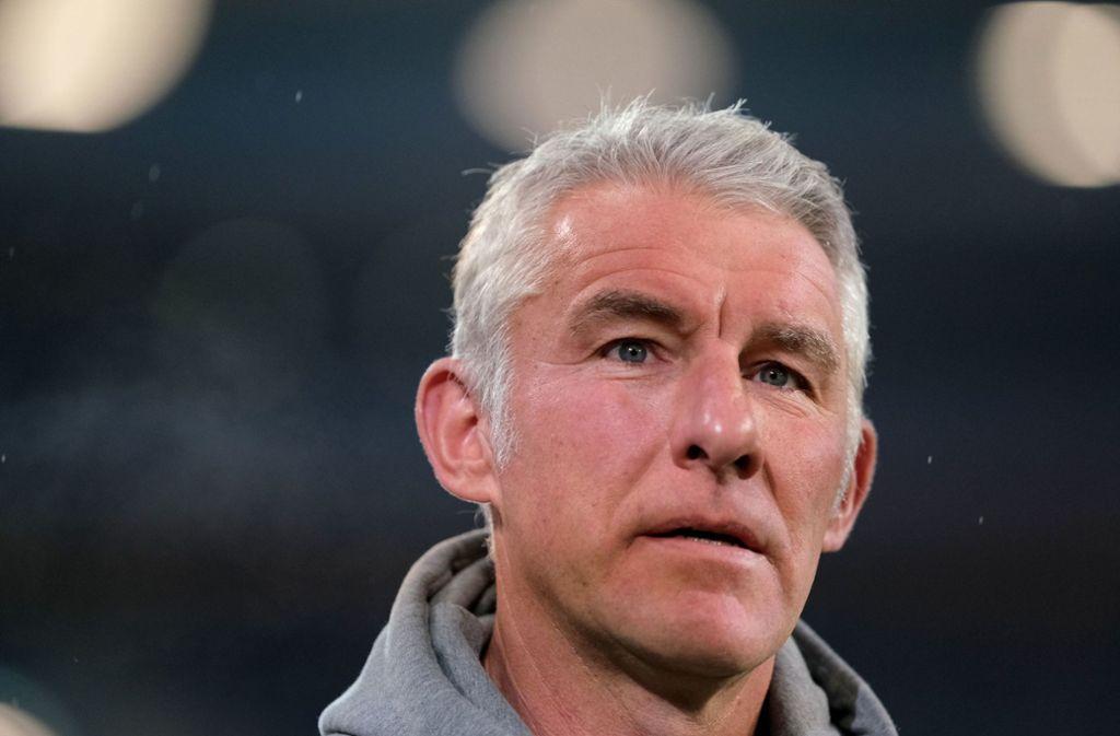 Mirko Slomka ist bei Hannover 96  mit sofortiger Wirkung entlassen worden. Foto: dpa/Peter Steffen