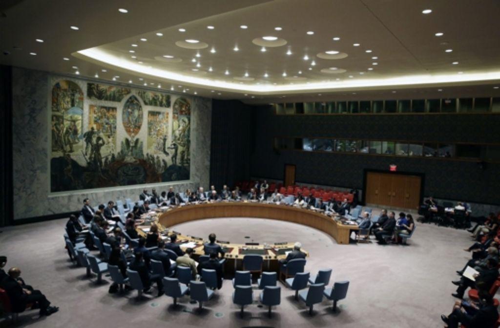 Der Irak hat vor dem Sicherheitsrat der Vereinten Nationen der Terrormiliz IS Organhandel vorgeworfen. (Archivfoto) Foto: dpa