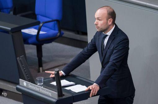 "Südwest-CDU ist ""sinksauer"" auf Nikolas Löbel"