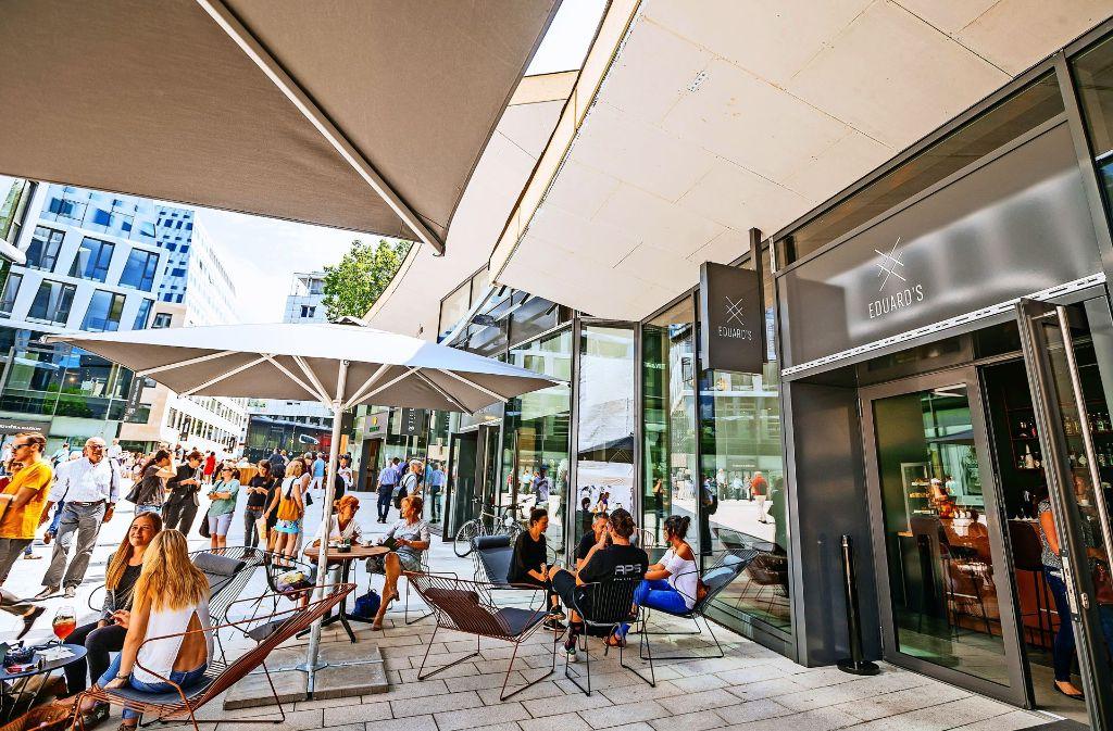 Das Eduard's im Dorotheen-Quartier. Foto: Breuninger/Niedermüller