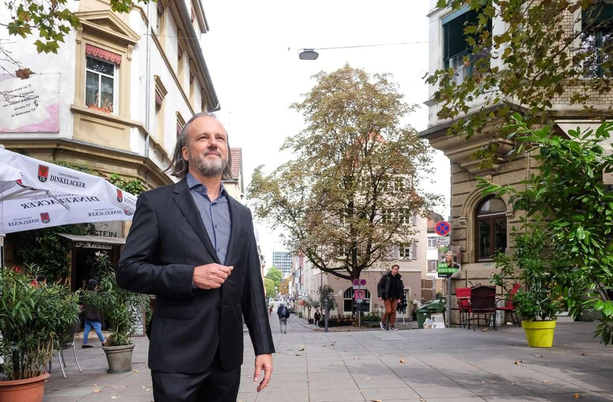 John Heer, Ex-OB-Kandidat, will bei den Maßnahmen zur  Stadtentwicklung mitreden. Foto: Lichtgut/Max Kovalenko