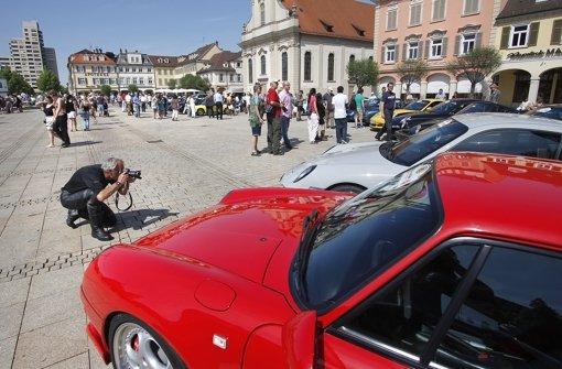 Marktplatz wird zum Parkplatz