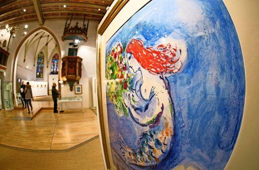 Chagall und Fuchs in der Kreuzkirche