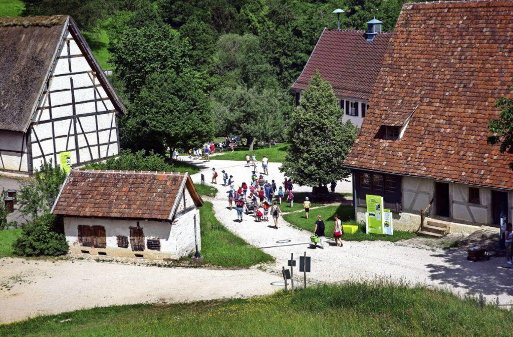 Der Förderverein bringt Leben ins Beurener Museumsdorf. Foto: