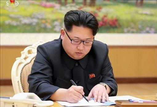 Nordkoreas Machthaber Kim Jong Un hatte im vergangenen Monat angedeutet, sein Land besitze eine Wasserstoffbombe. Foto: dpa