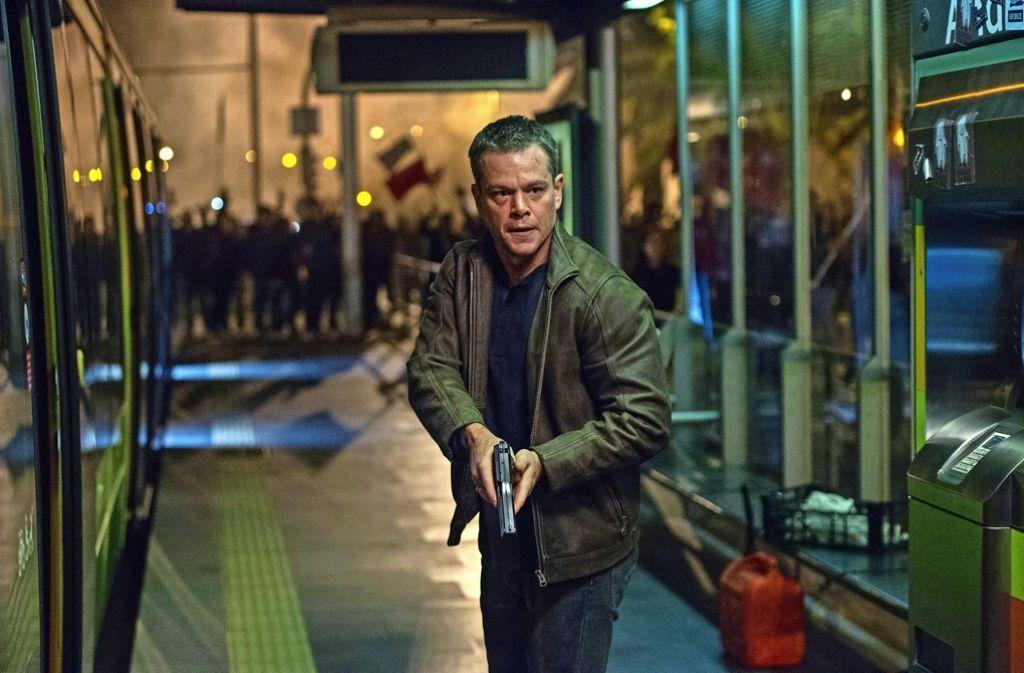 """Matt Damon spielt in seinem neuen Film wieder einmal den Geheimagenten """"Jason Bourne"""". Foto: AP"""