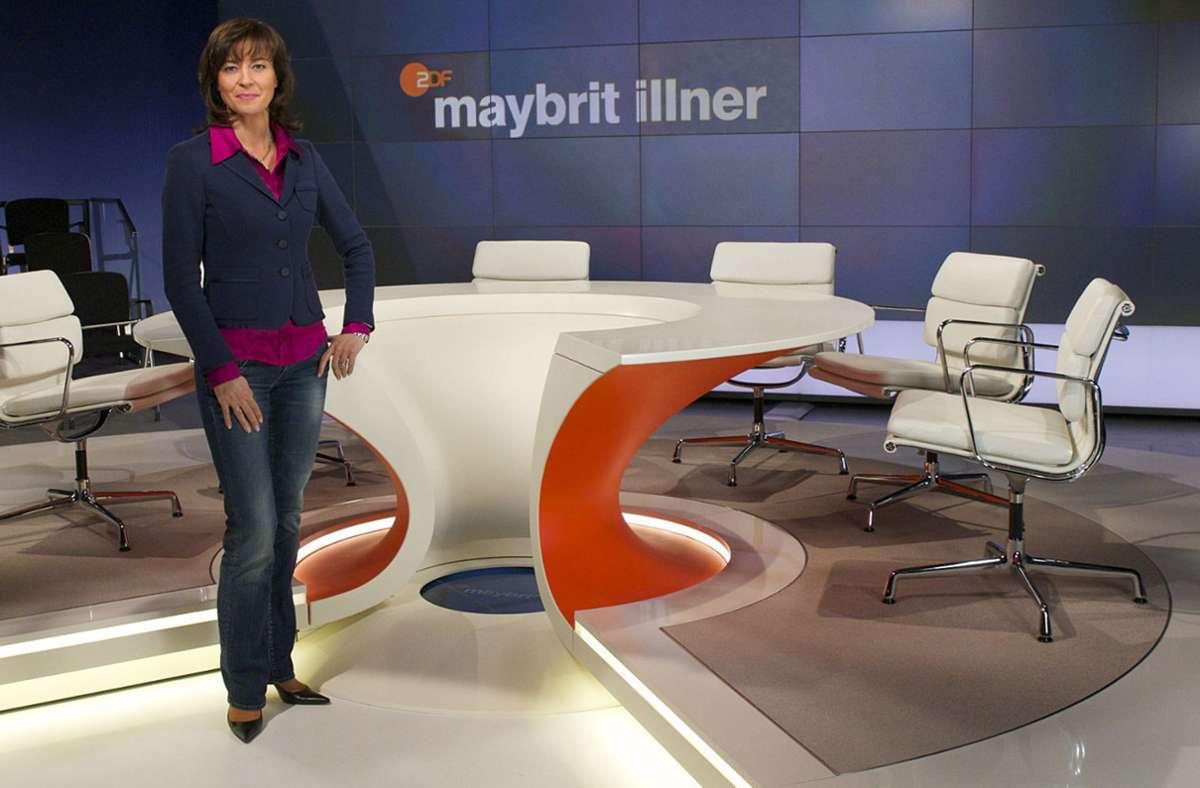 Maybrit Illner befragte ihre Gäste am Donnerstag erneut zu Corona. Foto: dpa/Carmen Sauerbrei