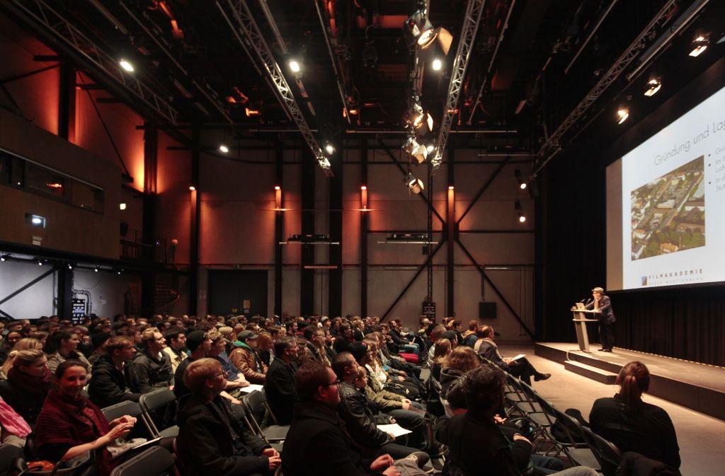 Großes Interesse beim Informationstag an der Filmakademie in Ludwigsburg Foto: factum/Granville