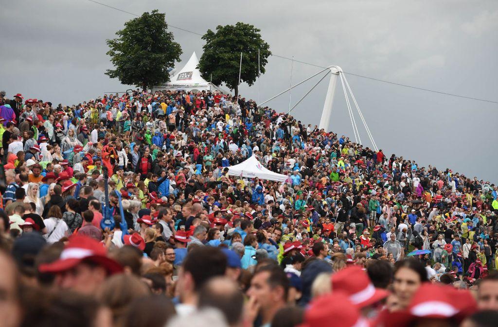 Bei dem Festival werden Hunderttausende Besucher erwartet. Foto: dpa
