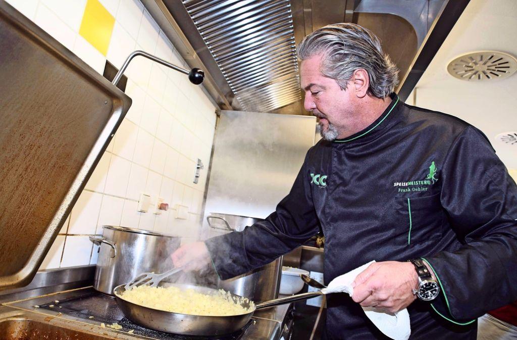 Frank Oehler ist der Speisemeister. Aber eben nicht der einzige. Foto: LG/Kovalenko