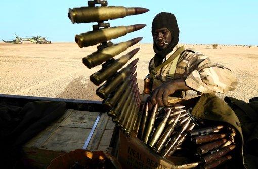 Die malische Armee gibt sich martialisch, doch ihr Zustand ist miserabel. Foto: AFP