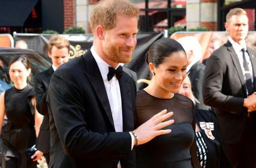 Verschafft Harry seiner Frau hier eine Disney-Sprecherrolle?