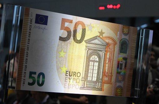 Neuer 50-Euro-Schein kommt