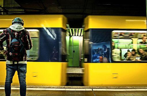 Verkehrsunfall bei der Stadtbahn
