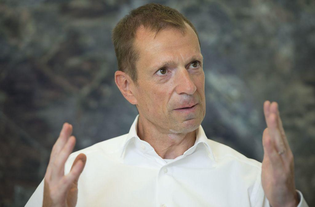 CDU-Ratsfraktionschef Alexander Kotz findet, ohne OB Kuhn sei die Landeshauptstadt besser dran. Foto: Lichtgut/Leif Piechowski