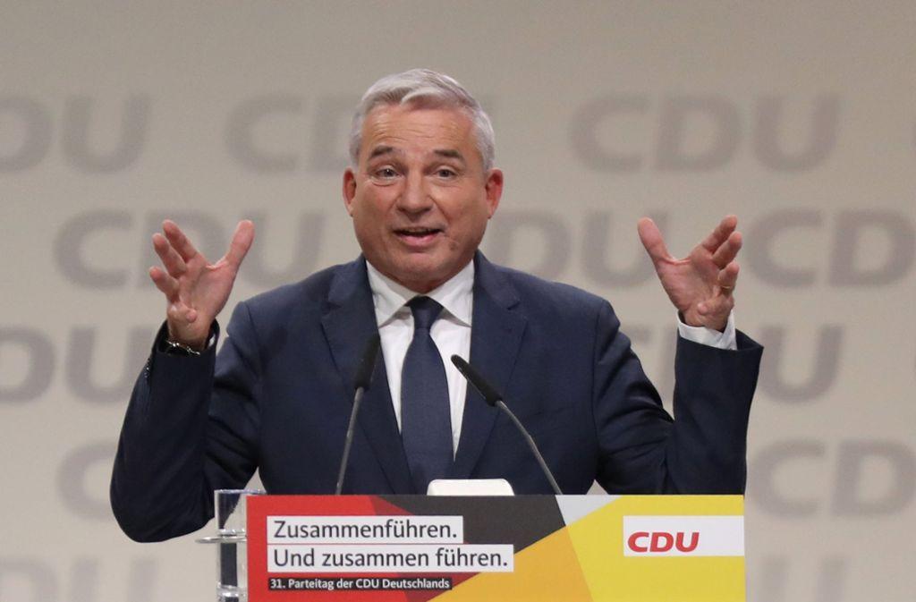 Thomas Strobl will  den konservativen Flügel der CDU mit der Wahl versöhnen. Foto: dpa