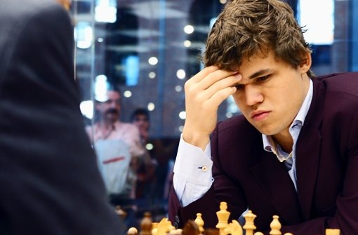 Magnus Carlsen macht auch Werbung für ein Modelabel. Foto: EFE