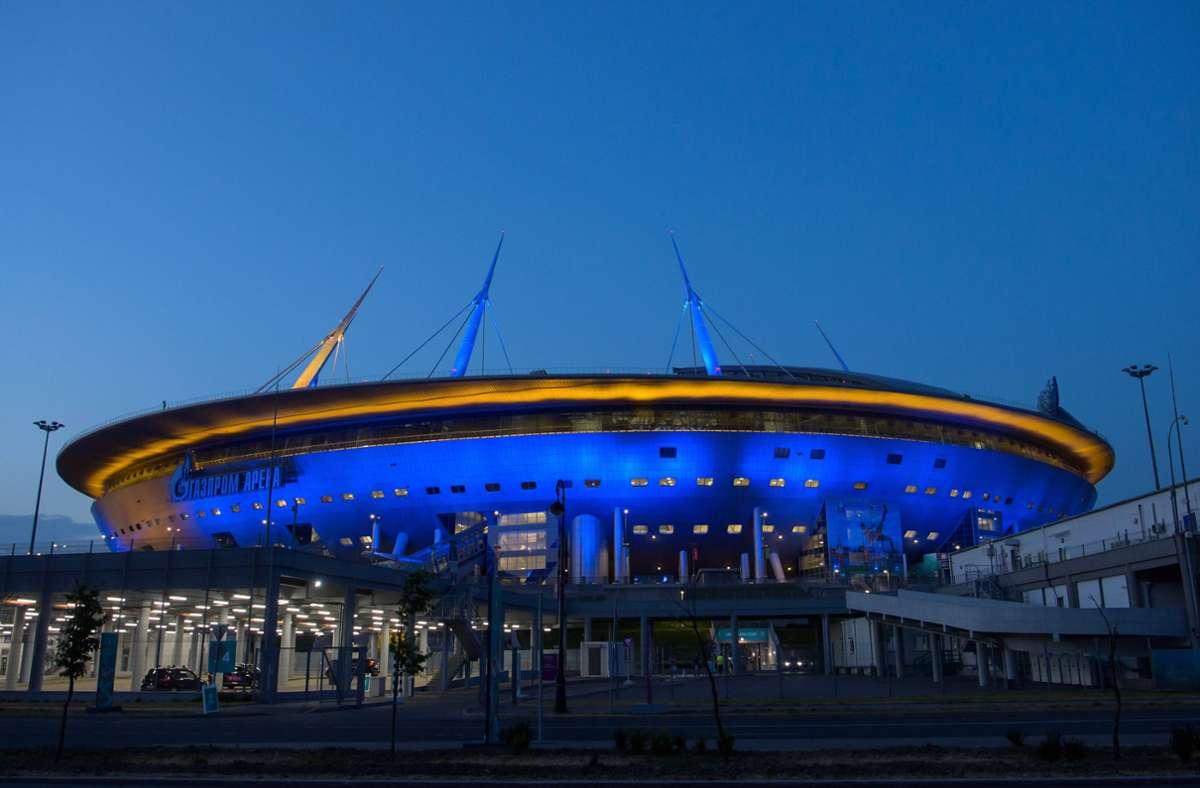 In St. Petersburg wird am Freitag noch ein EM-Viertelfinale ausgetragen. Foto: imago images/Bildbyran/JOEL MARKLUND