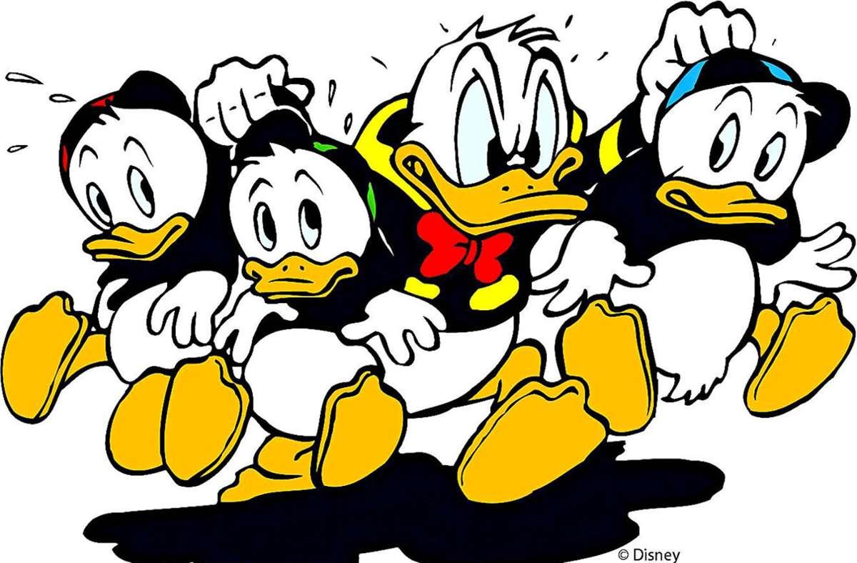 Donald Duck war in Wort und Tat immer ein bisschen aufbrausend. Seine alten Abenteuer werden jetzt auf Anstößiges abgeklopft. Foto: Egmont Ehapa Verlag GmbH