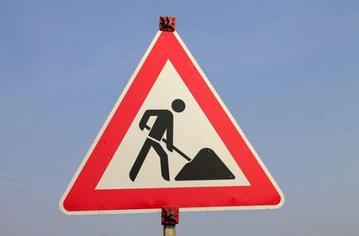 Die Ditzinger Straße wird halbseitig gesperrt