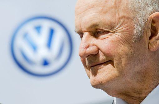Langjähriger VW-Patriarch  gestorben