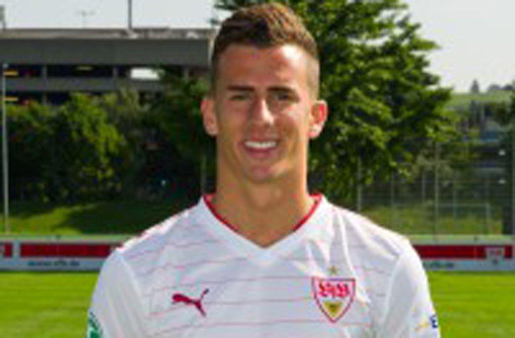 Francesco Lovric vom VfB Stuttgart II ist bei der U20-WM dabei. Foto: FuPa Stuttgart