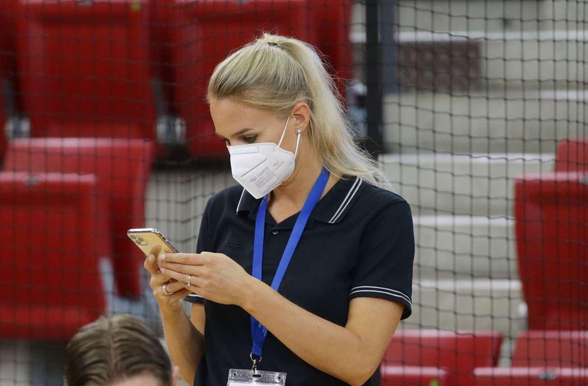 Muss nach der Spielabsage umplanen: MTV-Sportchefin Kim Renkema Foto: Baumann