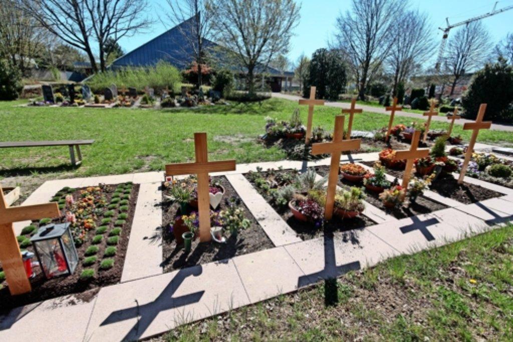 Der neue Friedhof in Höfingen soll vergrößert werden. Foto: factum/Granville