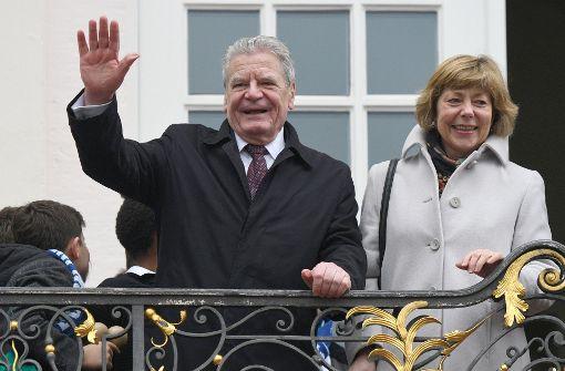 Abhscied: Gauck wird am 19.März aus dem Amt scheiden. Foto: dpa