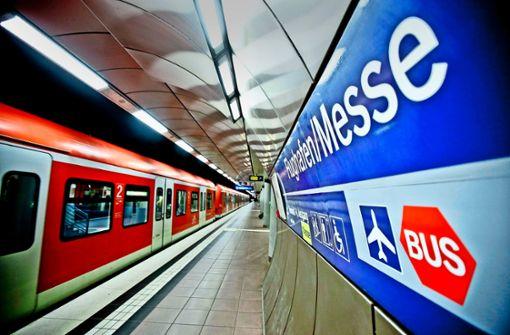 BahnlinieS2 ab Dezember im  15-Minuten-Takt nach Filderstadt