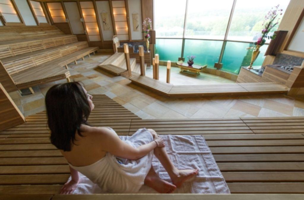 Eine eigene Sauna im Haus? Das wär's! Foto: dpa