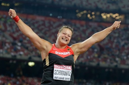 Kugelstoßerin Christina Schwanitz gewinnt Gold