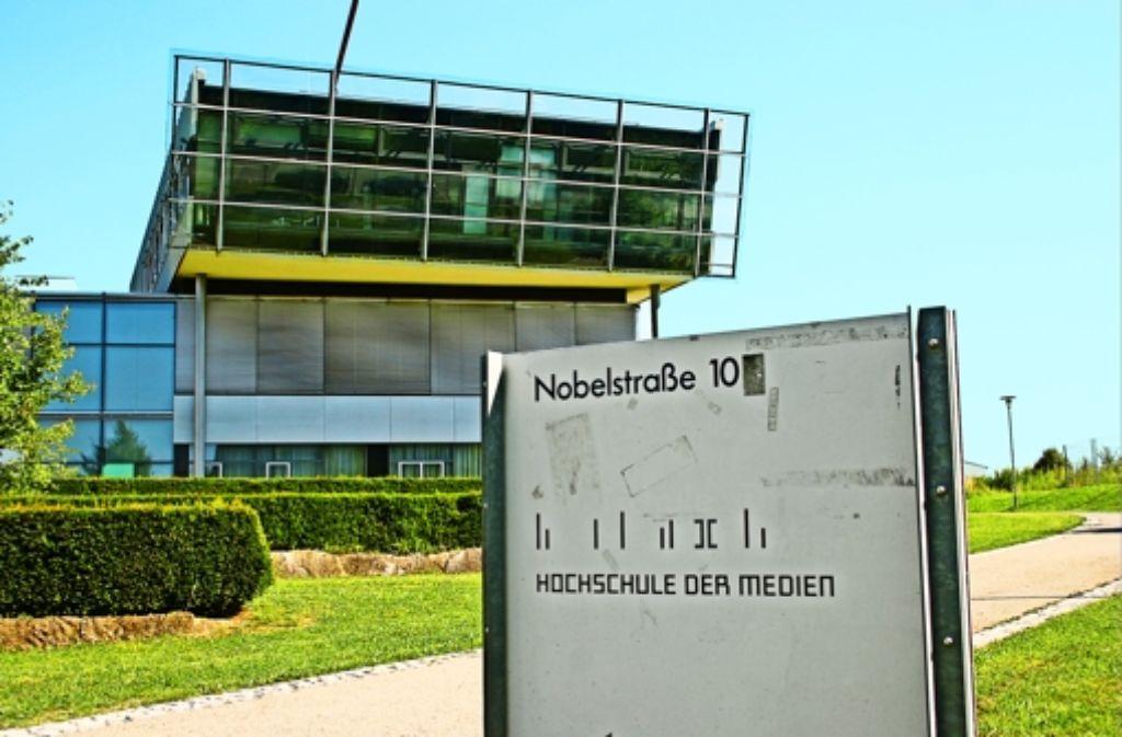 In der  Hochschule der Medien  sind rund 4000 Studierende eingeschrieben. Foto: StZ
