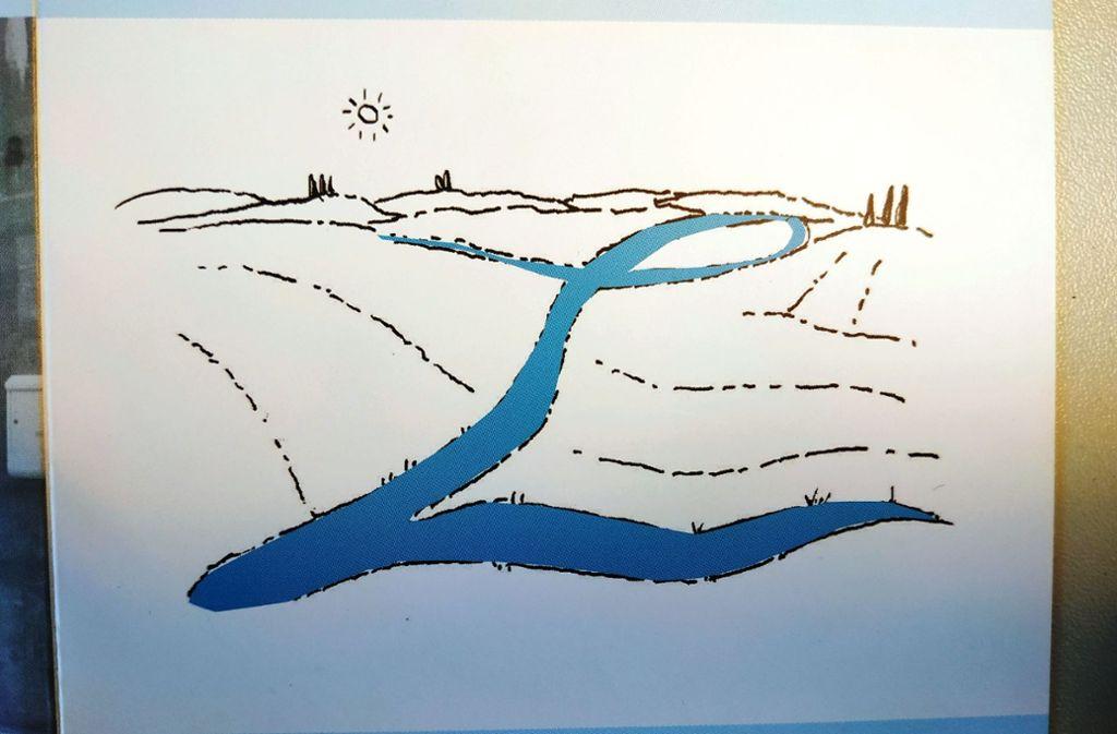 Das Logo von Fiume per Loretta – dem Fluss, der zu Loretta Petti führtDas Logo von Fiume per Loretta – dem Fluss, der zu Loretta Petti führt. Foto: Wesely