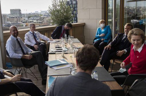 EU-Gipfel ringt um Haushalt und Corona-Fonds