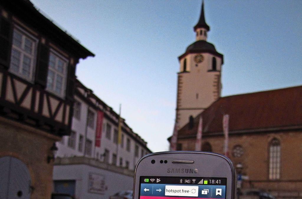 Die Stadtmarketing-Gruppe hat im Technischen Ausschuss über Probleme beim freien WLAN in Waldenbuch berichtet. Foto: Claudia Barner