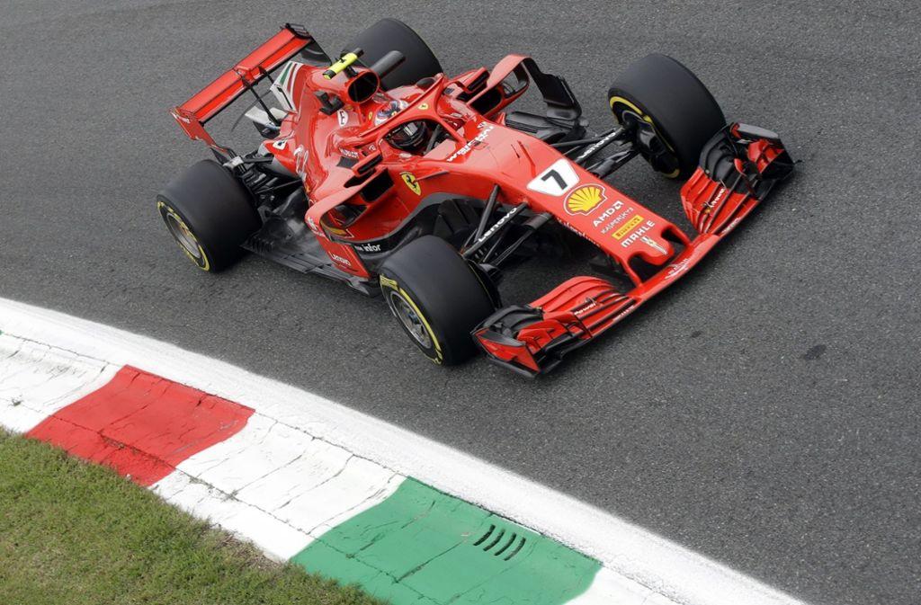 Kimi Räikkönen ist einer von zwei Finnen in der Formel 1 – ein Italiener fährt nicht mit. Foto: AP