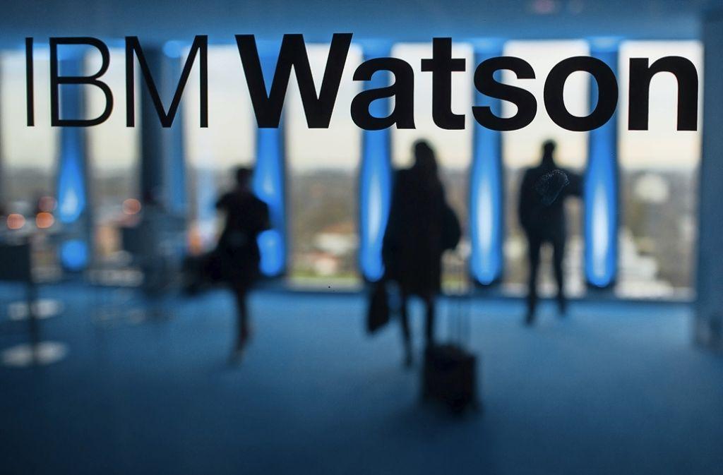 IBM nutzt die künstliche Intelligenz des eigenen Supercomputers Watson, um Produkte und Fabriken zu vernetzen. Foto: dpa