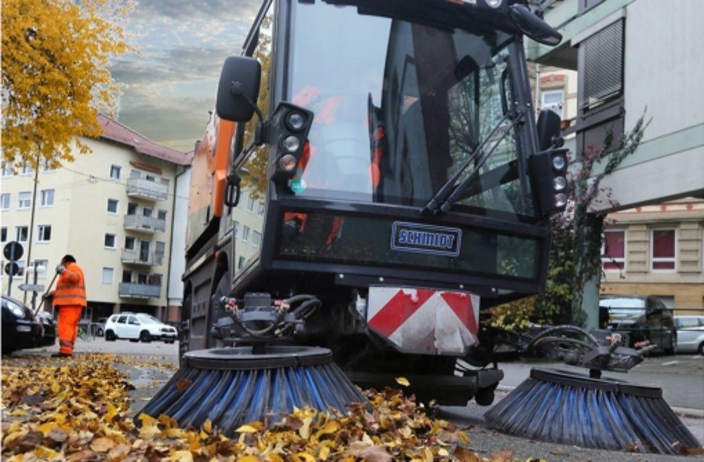 Kehrmaschinen sind dafür da, sauber zu machen. Können sie auch mit rechtem Gedankengut aufräumen? Foto: Achim Zweygarth