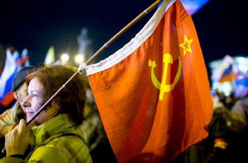 Russland breitet für Krim die Arme aus
